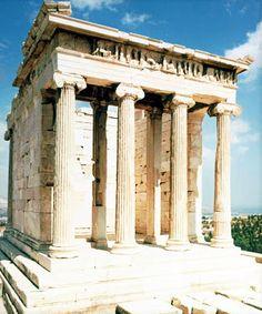 Templo de atenea Niké | La cámara del arte
