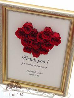 真っ赤なバラが美しい♡素敵な結婚式♡赤いウェルカムボードです♪