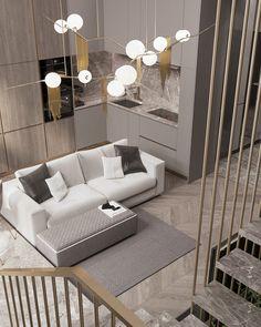 Листайте ➡️➡️➡️ А вот и обратная сторона, полюбившейся всем кухни)) лестница, зона ТВ и рабочая зона. С люстрой мы немного поиграли) —--—--—--—--—–——— #3d #3dmax #design #interiordesign #designmoscow #moscow #interior #demidovichdesign #style #decor #homedecor #wood #дизайнквартиры #дизайнкухни #дизайнгостинной #кухнягостиная #жкфилиград #филиград #дизайн #дизайнинтерьера #дизайнмосква #дизайнпроект #интерьер #ремонт #декор #corona #coronarender #livingroom #bedroom