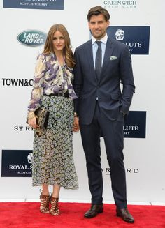 Olivia Palermo & Johannes Huebl attend the Sentabale Charity Polo Match on May 16, 2013