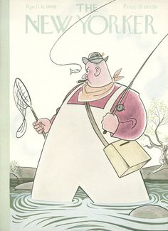 The New Yorker - Saturday, April 6, 1940 - Issue # 790 - Vol. 16 - N° 8 - Cover by : Rea Irvin