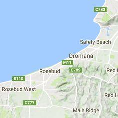 Victoria - Mornington Peninsula Winery Map