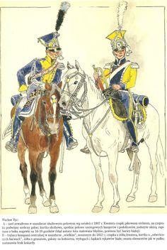 Lansjerzy Legii Nadwiślańskiej-Vistula Legion lanciers