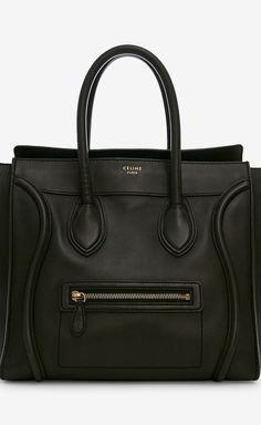 Celine Black Handbag   VAUNTE-- is this the newest 'it' bag?