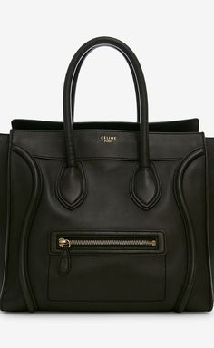Celine Black Handbag | I wish I had tons of $ so I could get one of these.