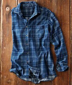 Aficionado Cord Shirt-Carbon 2 Cobalt
