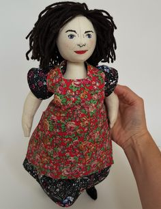 Cloth Art Doll inspired by Ma Larkin from the Darling Buds of May Darling Buds Of May, Softies, Art Dolls, Inspired, Disney Princess, Studio, Toys, Inspiration, Clothes