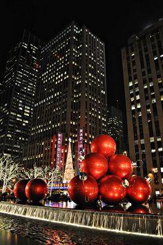 Christmas in NYC....photo by me(Elaine Kucharski)