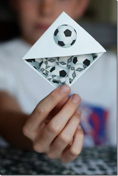Oh my gosh I I'm not much of a soccer player but my cousin is and I thought she might appreciate this soccer bookmark