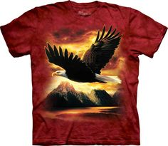 Have you heard that Bird is the Word? Buy the Freedom Eagle T-Shirt direct from The Mountain and let your inner bird spirit soar! Little Man Style, Thing 1, Old Glory, Animals For Kids, Tshirts Online, Just In Case, Classic T Shirts, Shirt Designs, Mens Tops
