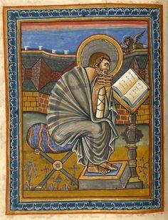 Evangelist Mark | Gospel Book | France, Reims | ca. 860 | The Morgan Library & Museum