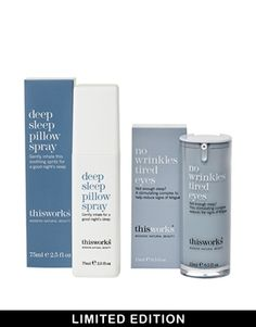 This Works Limited Edition Sleep Deprived Set SAVE 30% - Pillow spray tired e