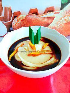 Resep Bubur Sumsum Indonesian Desserts, Indonesian Cuisine, Asian Desserts, Sweet Desserts, Indonesian Recipes, Breakfast Snacks, Breakfast For Dinner, Breakfast Recipes, Dessert Recipes