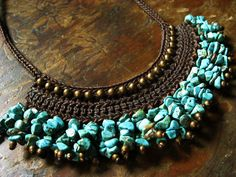Ethnic style Asian necklace ♪Idea only