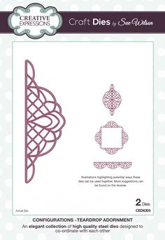 The Configurations Collection - Teardrop Adornment