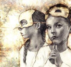 the Birdchildren series, by Beatriz Martin Vidal
