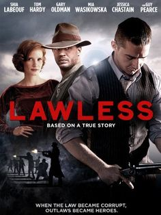Lawless (Blu-ray + DVD + Digital Copy) on Blu-ray from Starz / Anchor Bay. Directed by John Hillcoat. Staring Dane DeHaan, Mia Wasikowska, Jason Clarke and Jessica Chastain. More Action, Historical / Period Piece and Drama DVDs available @ DVD Empire. Lawless Movie, Lawless 2012, Jason Clarke, Guy Pearce, Mia Wasikowska, Instant Video, Gary Oldman, Video On Demand, Jessica Chastain