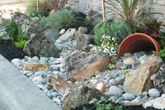 Easy Landscaping Ideas | Low Maintenance Yard | Landscaping With Rocks