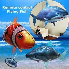 Get Best Price 1PCS Remote Control Flying Air Shark Toy Clown Fish Balloons Inflatable With Helium Fish plane RC Helicopter Robot Gift For Kids #1PCS #Remote #Control #Flying #Shark #Clown #Fish #Balloons #Inflatable #With #Helium #plane #Helicopter #Robot #Gift #Kids