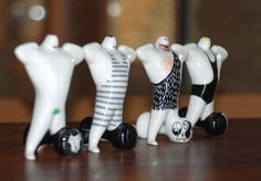 Ćmielów, Poland Budapest, White Plants, Clay Figures, Polish Pottery, Gym Time, Sculptures, Wedding Inspiration, Dolls, Man Doll