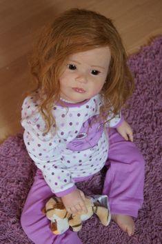 LNB~ Reborn Toddler Girl~Sally ~ Sculpt Regina Swialkowski~ Human Hair~cute