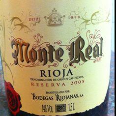 Monte Real Rioja 2005