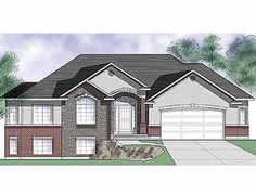 Traditional House Plan with 1673 Square Feet and 3 Bedrooms from Dream Home Source | House Plan Code DHSW26083