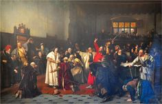 Václav Brožík, Volba Jiřího z Poděbrad Academic Art, Wikimedia Commons, Fine Art, Painting, Painting Art, Paintings, Visual Arts, Painted Canvas, Drawings