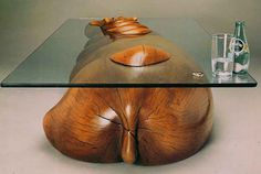 Amazing Table Designs Create the Illusion of Animals Emerging from Water…