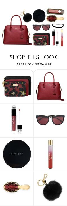 """""""Inside My Purse"""" by jennation ❤ liked on Polyvore featuring Baggallini, Kate Spade, Christian Dior, Smoke x Mirrors, Witchery, Hanae Mori, AERIN, MICHAEL Michael Kors and ASOS"""