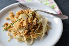 Gratin fenouil flocons quinoa chevre pignons thym 01