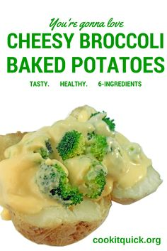 Cheese + broccoli = an easy to prepare meal and is a budget friendly recipe. #NebExt