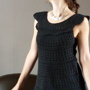 tunique crochet phildar - muse