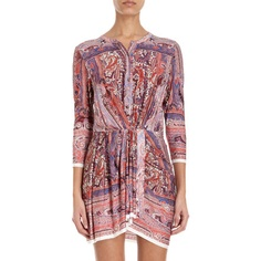 What I want to wear to Coachella. Isabel Marant Dress. Love the boots too. $840