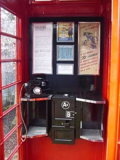 English telephone booth original phone stand storage cabinet mirror vintage bell booths british plans graphics kits holder with style authentic replica american London Telephone Booth, London Phone Booth, Walls Ice Cream, Porch Mat, 1970s Childhood, Childhood Memories, Ice Cream Van, Vintage Phones, Post Box