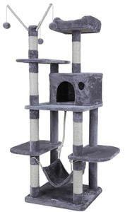 Arbre à chat Amazon grande capacité griffoir niches colonnes renforcées