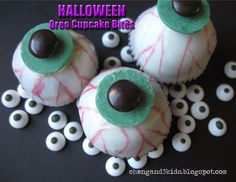 Halloween Oreo Cupcake Bites by Cheng and 3 Kids