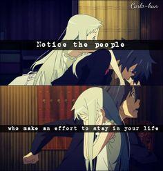 Yes so true! Anime:Ano hana