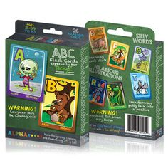 Alpha Cards: Alphabet Flash Cards by He's All Boy, Inc. Created by a local Colorado Mom!