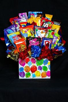 Sweet Be's Original Candy Bouquet, for all your candy and gift ideas.