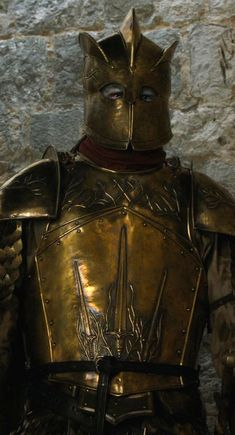 """Gregor """"The Mountain"""" Clegane reanimated as Ser Robert Strong"""