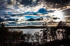 Mrągowo położone jest nad pięknym jeziorem.