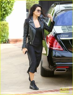 Is Kourtney Kardashian's Cryptics Instagram About Scott Disick?: Photo #3521935. Kourtney Kardashian steps out in an all black outfit while heading into her car on Thursday afternoon (December 3) in Beverly Hills, Calif.    The 36-year-old reality…