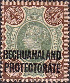 Bechuanaland 1897 Queen Victoria SG 64 Fine Mint
