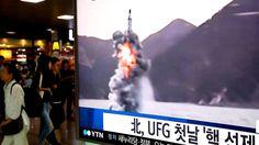 США сообщили о неудачном запуске КНДР баллистической ракеты http://kleinburd.ru/news/ssha-soobshhili-o-neudachnom-zapuske-kndr-ballisticheskoj-rakety/  Американские военные заявили, что Северная Корея совершила неудачный запуск баллистической ракеты. Представитель Пентагона сказал, что запуск осуществлялся около города Кусонг, на северо-западе страны. При этом главнокомандующий ВМС США Гари Росс заявил, что подобные ракеты не представляют угрозы для территории Северной Америки. Власти…