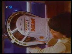 """Anuncio Madelman de 1980 que presenta la nueva colección de """"Madelman Cosmic"""", con su astronave M7X."""