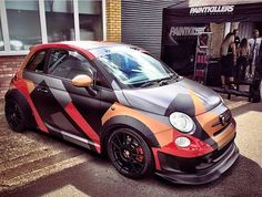 Fiat 500 Fiat 500c, Fiat Abarth, New Fiat, Fiat Cars, Love Car, Performance Cars, Tiny House Design, Jdm, Cars And Motorcycles