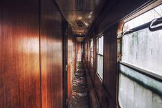 Train Graveyard M : The corridor, via Flickr.