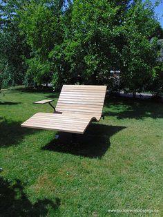 Sonnenliege SunDivan Backyard Gazebo, Modern Pools, Garden Chairs, Outdoor Furniture, Outdoor Decor, Park, Home Decor, Gardens, Outdoor Seating