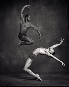 Lloyd Knight and Abdiel Cedric Jacobsen from the Martha Graham Dance Company. NYC Dance Project